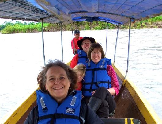 jenna-and-family-on-napo-river-ecuador